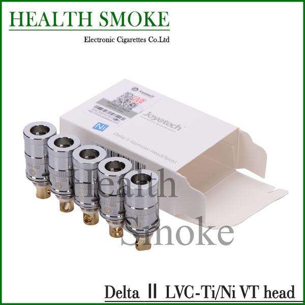 Original Joyetech Delta II LVC Coil Head for Delta Replacement 0.5ohm 20-45W Delta 2 Coil Head 5pcs/lot<br><br>Aliexpress