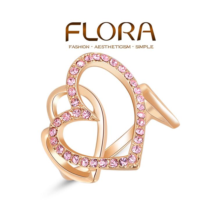 Кольцо FLORA s F2010406300b flora express бархатный поцелуй