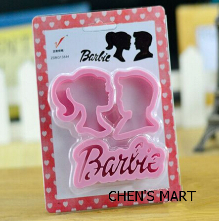 NEW ARRIVAL 3 pc/ 1 set Children's Day kiss Princess couple love heart Cookie Cutter Set Cake Tool Decorating Mold Fondant Mould(China (Mainland))