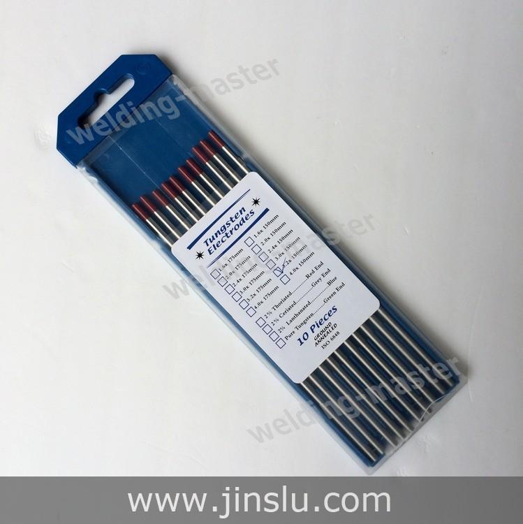 Wt20 - rouge 3.2 mm * 150 mm thorié électrode de tungstène pour le soudage TIG(China (Mainland))