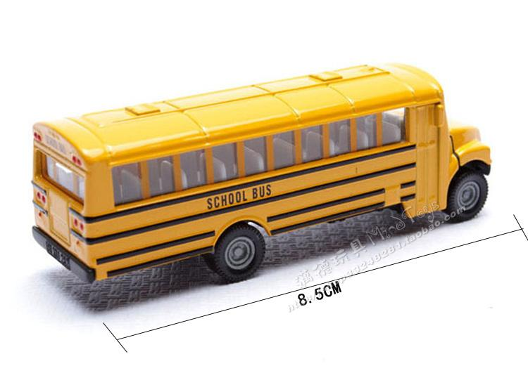 2016 Germany 1319 new American school bus school bus yellow car new packaging alloy(China (Mainland))