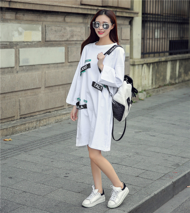 Buy vestido de festa preppy style women Buy white dress shirt