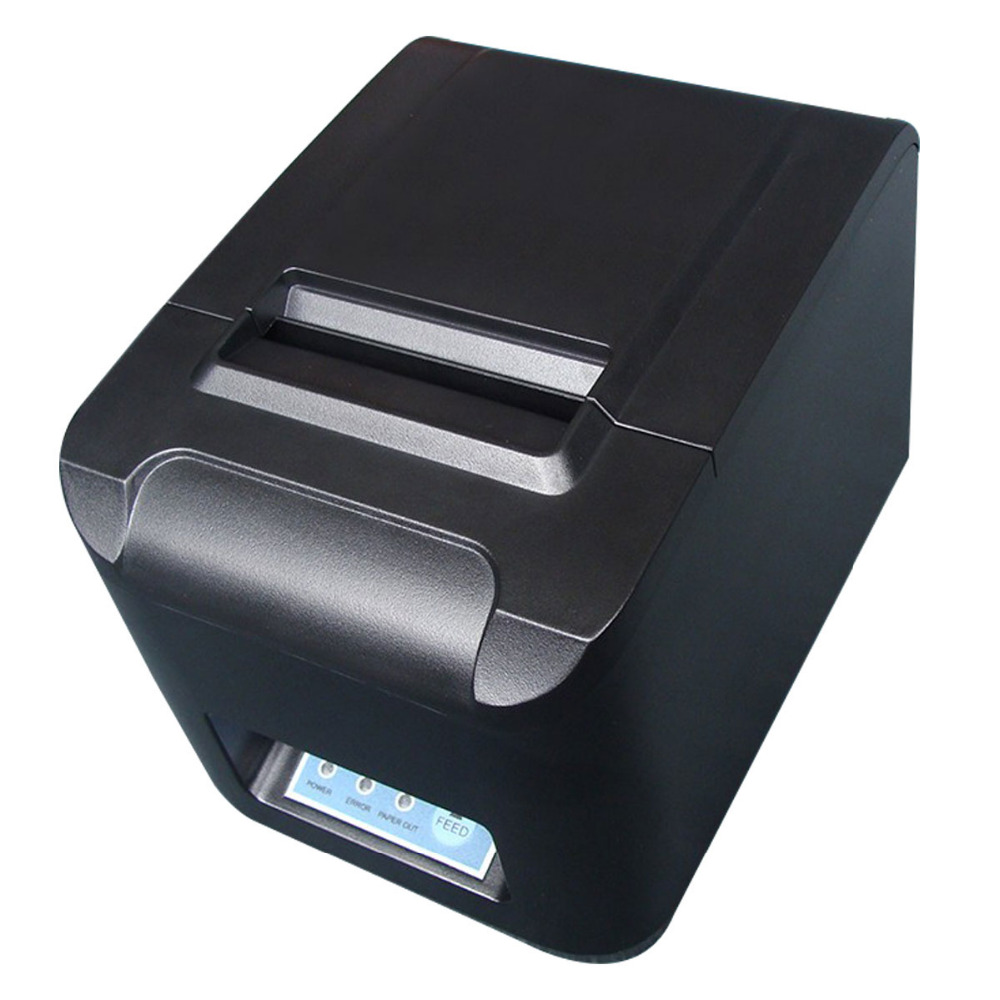 80mm Bluetooth thermal printer 80mm POS printer USB Mobile Phone printer Auto-Cutter For Windows Android IOS Phone 260MM/S(China (Mainland))