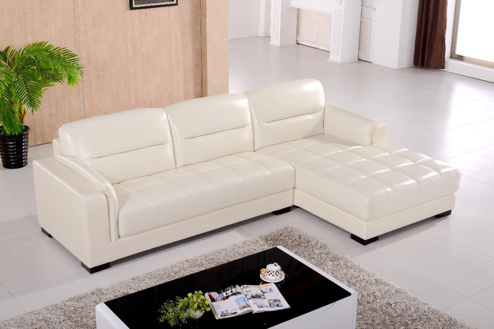 L Shaped Sofa Leather Sofa Living Room Couch Corner