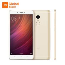 "Original Xiaomi Redmi Note 4 3GB RAM 32GB ROM Mobile Phone MTK Helio X20 Deca Core 5.5"" FHD 4100mAh Fingerprint ID 13MP Camera(China (Mainland))"