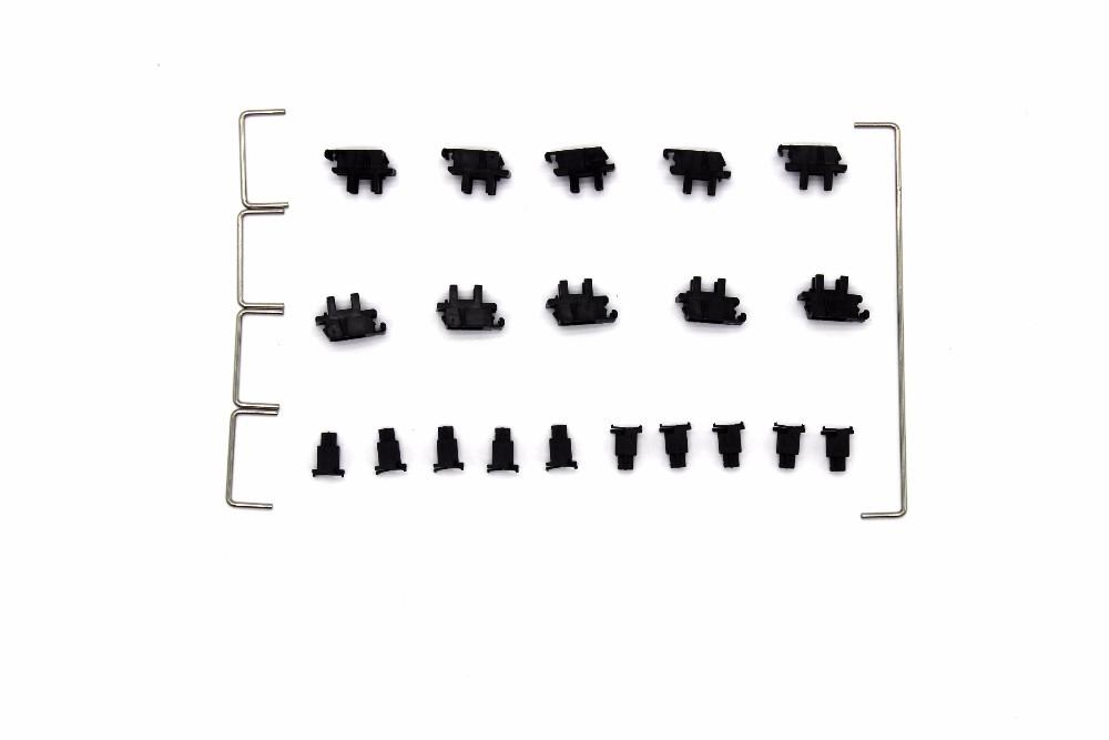 Cherry Original and OEM Plate-Mounted Plate Stabilizers Satellite Axis 7u 6.25u 2u for MX Mechanical Keyboard Big Keycap