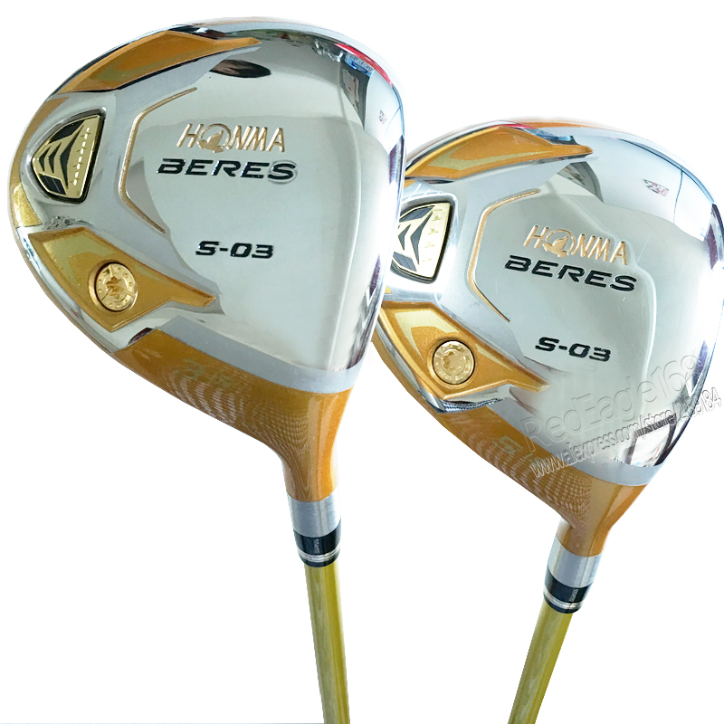 New mens Golf clubs HONMA S-03 4 Star 3/15 5/18 Golf fairway wood with Graphite Golf shaft wood clubs free shipping(China (Mainland))