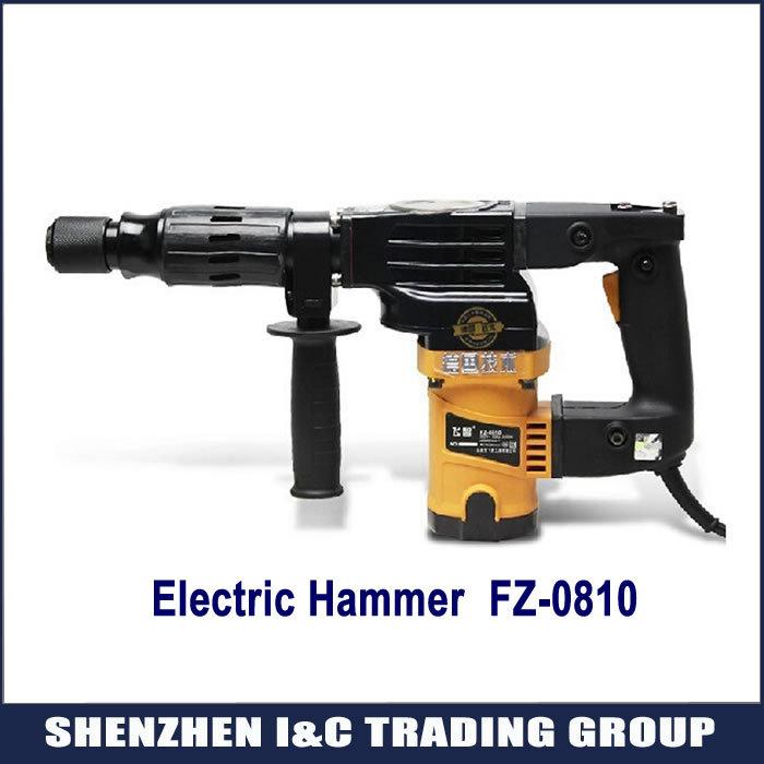 Hot selling high power electric hammer FZ-0810, electric pick gun 1800W(China (Mainland))