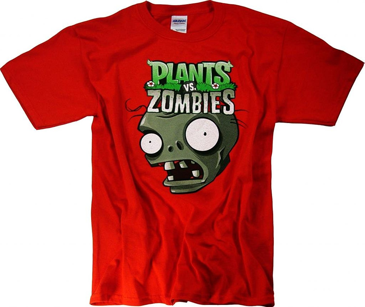 Plants vs Zombies 2 T-Shirt Youth Plush Toys Merchandise Clothing Apparel(China (Mainland))