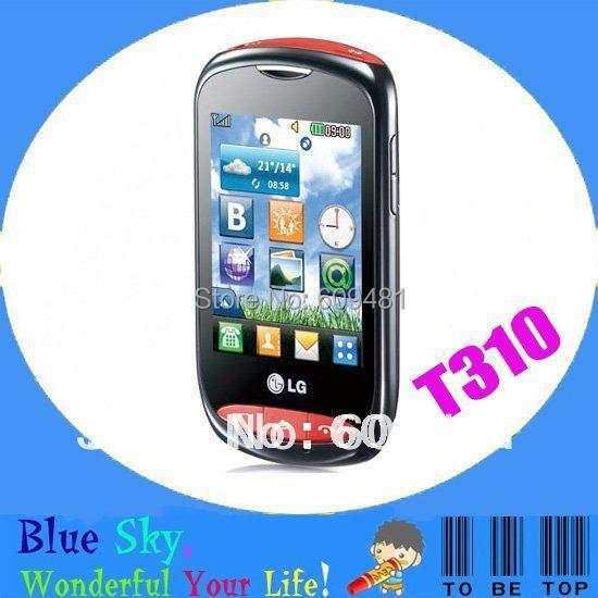 Original Mobile Phone LG Wink Style T310 T310i Unlocked Cell Phone Quad -Band(China (Mainland))
