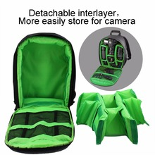 Free Shipping Coloful Waterproof Multi-functional Digital DSLR Camera Video Bag Small DSLR Camera Bag for Photographer(China (Mainland))