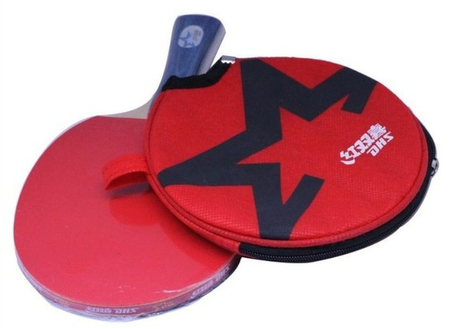 Best PingPong racket Double Happiness Table Tennis Racket Ping Pong table for Long handle or Short handle table tennis bat