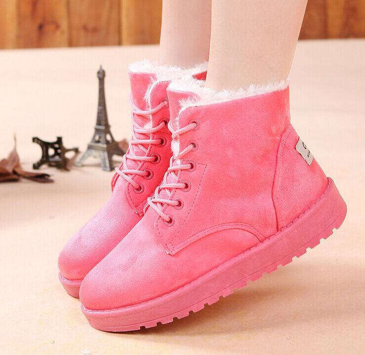 Awesome Cute Flat Ankle Boots Cute Style Flat Round Toe Women39s Ankle Boots
