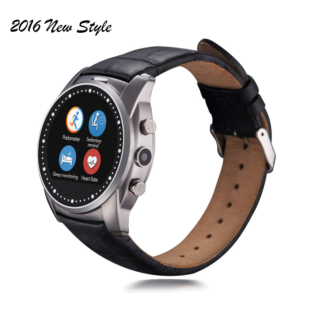 Smartwatch A8 Bluetooth Smart Watch Heart Rate Monitor Wristwatch Support SIM TF Card & Camera For Apple ISO Android Phone 8969