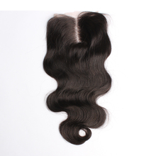 Peruvian Lace Closure Bleached Knots 5×5 6A Peruvian Body Wave Top Closure Free Middle 3Part Lace Top Closure Rosa Hair Products