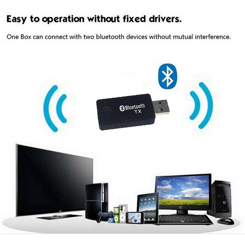 store product Bluetooth Audio Music Transmitter For Computer TV USB  mm Receiver Adapter ?ws ab test=searchweb searchweb