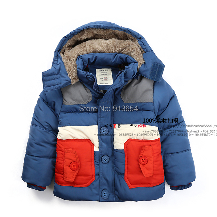 2014 autumn winter jacket baby clothing child thick warm parka boys cool coat kids casual outerwear