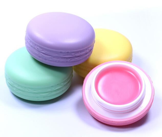 Purple Lip Balm Flavor Macaron Lip Balm