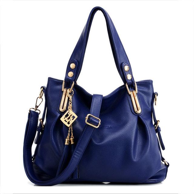 2016 New Fashion PU Leather Tassel Bag Shoulder Bags Women Messenger Bags Women Handbag Women Handbags Fast Shipping