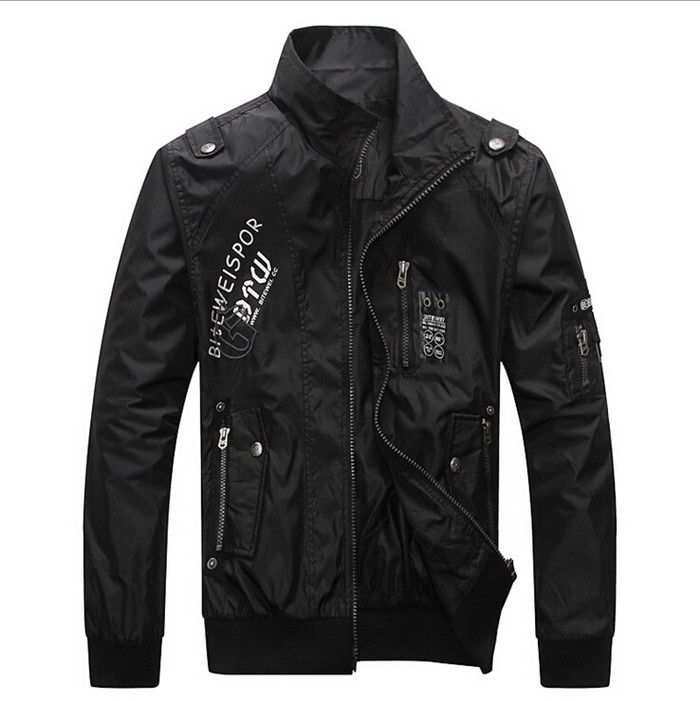 New Bussiness Style Men's Jaket Thin black casual jacket Men's Turndown Collar Coat Fashion clothes Free Shipping!!!(China (Mainland))