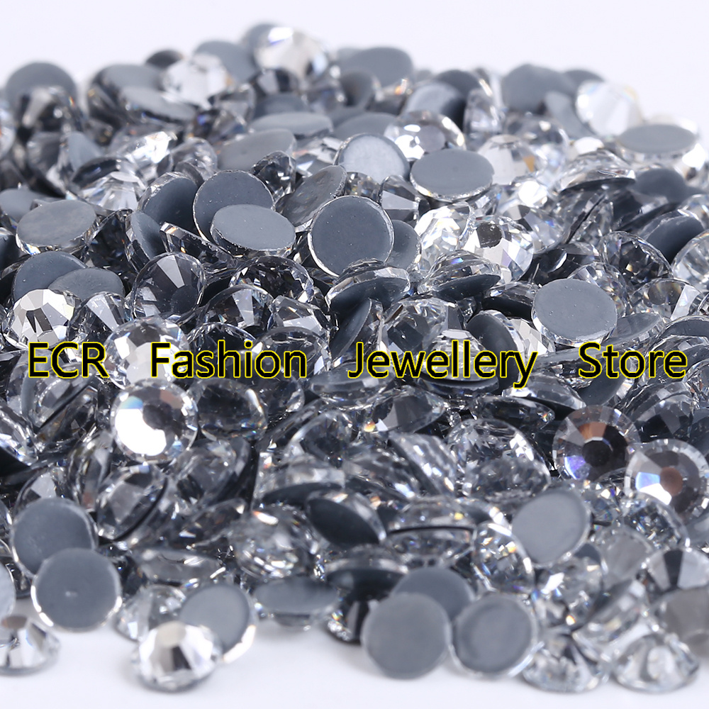 AAAA+ Best Quality Crystal Clear Hot Fix Rhinestone More Shiny Super Bright Hotfix Iron On Stones.SS4-SS40(China (Mainland))