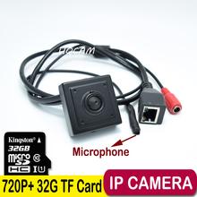 Buy 720P Audio Mini IP Camera Home Security Camera IP Cam Indoor Security CCTV IP Kamera 3.7mm Lens + 32G TF card camera ip for $45.39 in AliExpress store