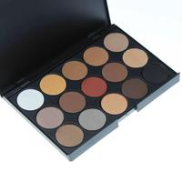 Professional 15 / 28 Colors Warm Nude Matte Shimmer Eyeshadow Palette Makeup Cosmetic # M01094