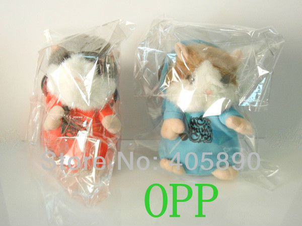 Russian Hamster MC DJ Rapper Baby Toy Repeat Speak Any Language Plush Stuffed Talking Toys