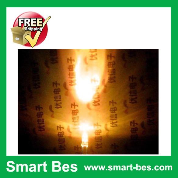 Smart Bes! 40,white LED,orange LED light,luminous diode,light emitting diode,3MM - Shenzhen S-Mart Electronics Co., Ltd~ 24hour fast shipping~ store