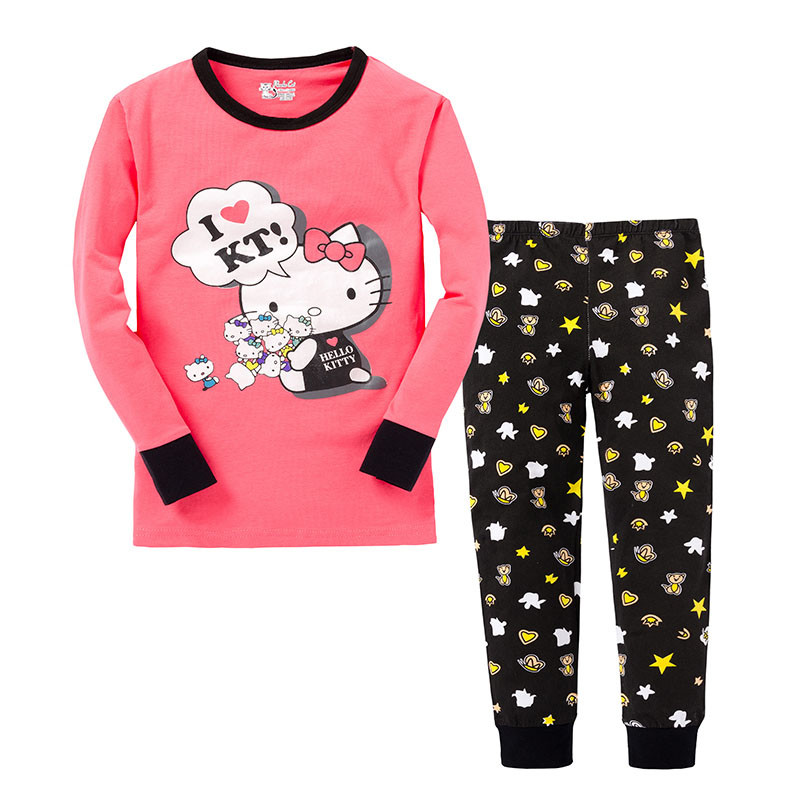 Aliexpress.com : Buy girl pajamas kids hello kitty pajamas ...