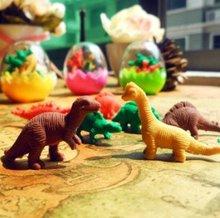 Ластик мультфильм творческий моделирования яйцо динозавра конструкторское бюро и исследование / подарки / дети подарок бесплатная доставка