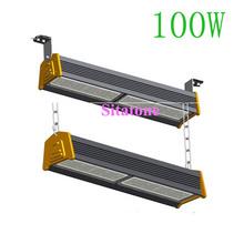 2PCS/LOT free shipping AC85-265V IP65 100w led bar 100w led warehouse light(China (Mainland))