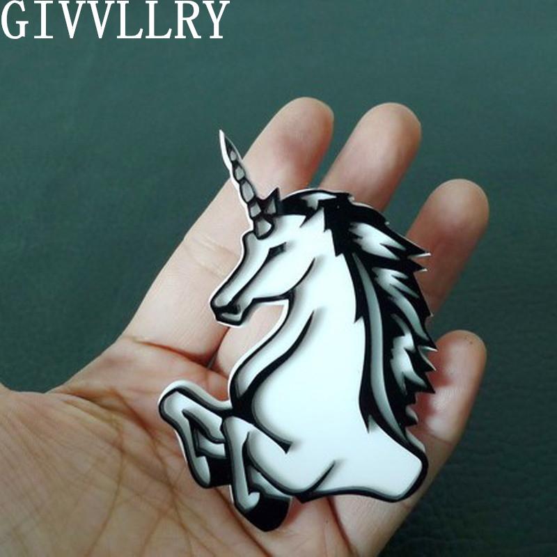 Cute Mini Horse Head Unicorn Brooch Pins Fashion Jewelry Wholesale Nice Gift Black and White Fashion Accessoties Unicorn Brooch(China (Mainland))
