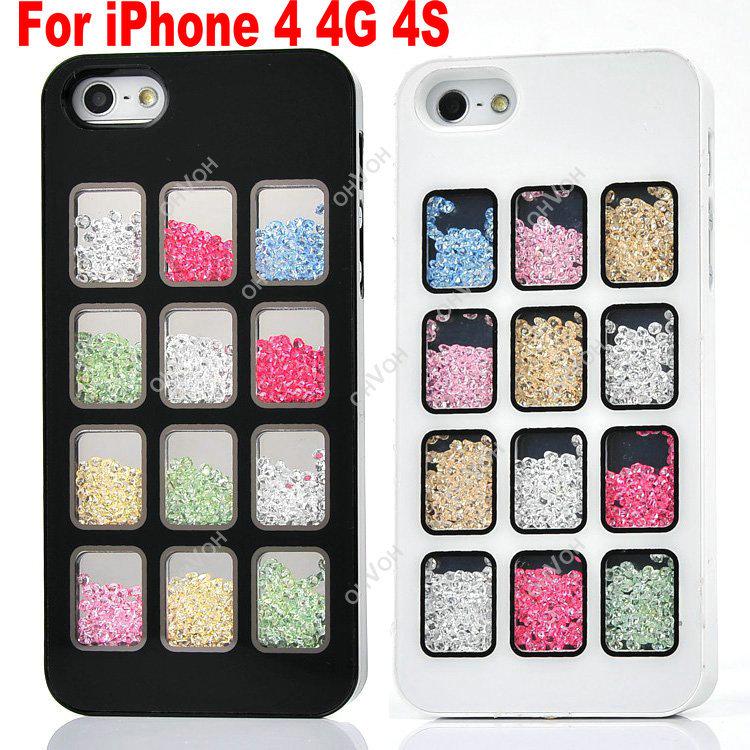 Чехол для для мобильных телефонов Bling iPhone 4 4S чехол для для мобильных телефонов brand new iphone 4s 4 18 beemo for iphone 4 4s