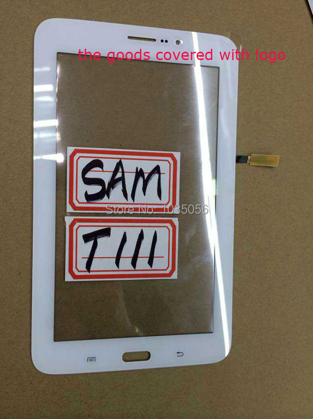 20Pcs/Lot Original For Samsung T111 3G Touch Panel Screen T111 Digitizer Mobile Phone Parts Glass Lens ; DHL EMS Free Shipping(China (Mainland))