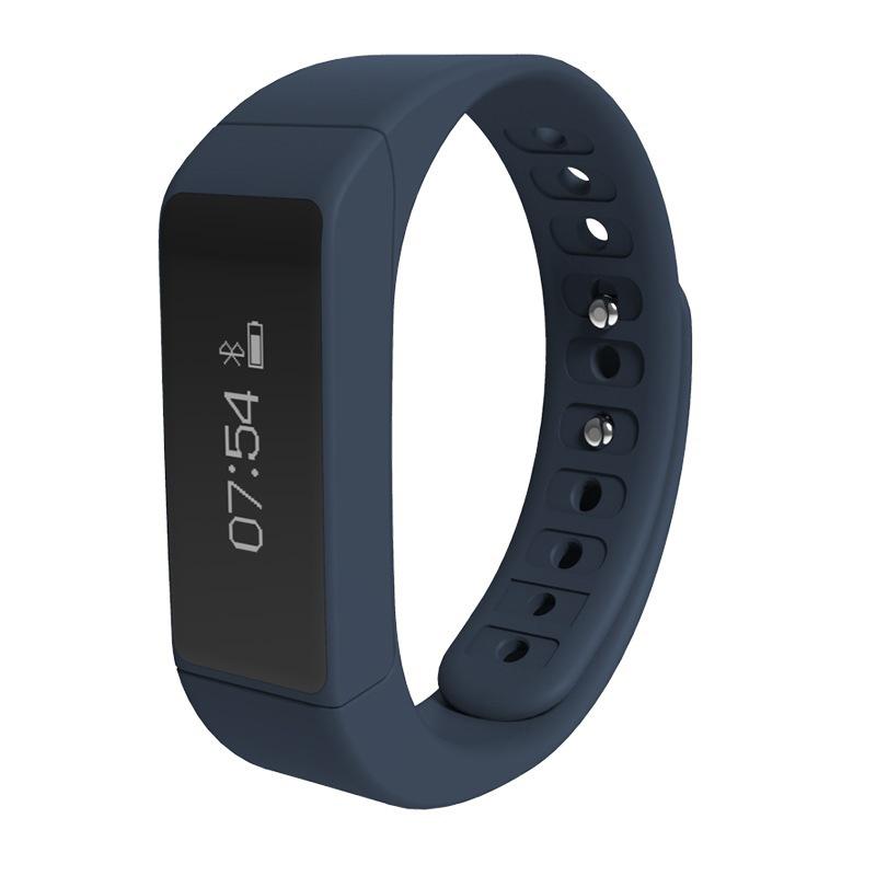 sports team silicone wristband bluetooth 4.0 i5 plus smart wristband i5 smart band(China (Mainland))
