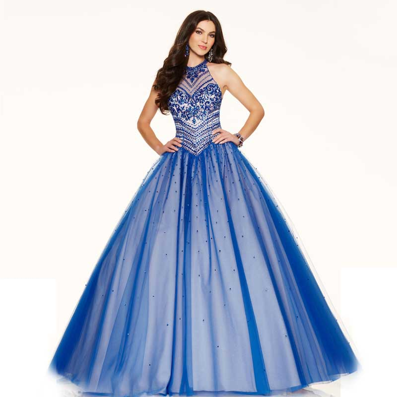 Compare Prices on Ball Gown Prom Dresses Blue- Online Shopping/Buy ...