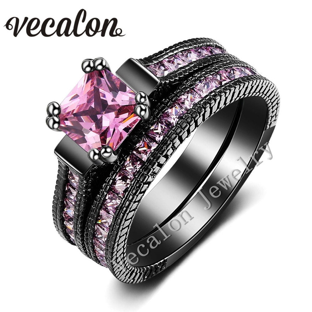 line Get Cheap Pink Engagement Ring Aliexpress