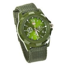 Lackingone 2015 fashion relogio masculino Watches Men quartz watch Canvas Strap Fabric Watch Outdoor Sport watch
