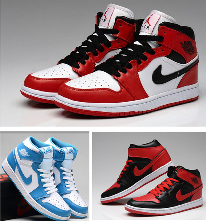 Air Jordan 1 I Mens Shoes Sale Blue White