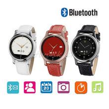 2016 nouvelle S360 Bluetooth montre Smart Watch montre – bracelet SOS ronde poignet Smartwatch téléphone compagnon pour Samsung Huawei Android IOS Smartphones