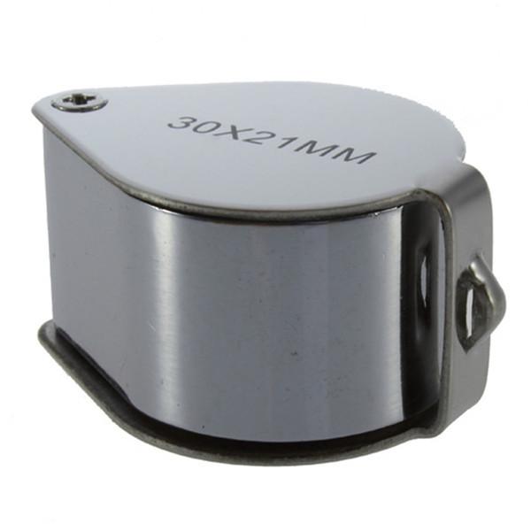 1pc Free Shipping Mini 40x Magnifying Glass LED Illuminate Jeweller Loupe Newest