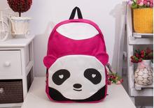 Bolsas Femininas Children Plush Animal Kung Fu Panda Backpacks kids 2015 Cute Women Casual Canvas school bags for teenager girls