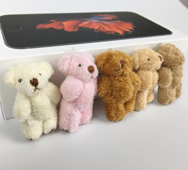 100 шт./лот мини 4 см длинные плюшевые совместное боути супер мило детей игрушки мягкие куклы свадебный подарок для детей BL1162