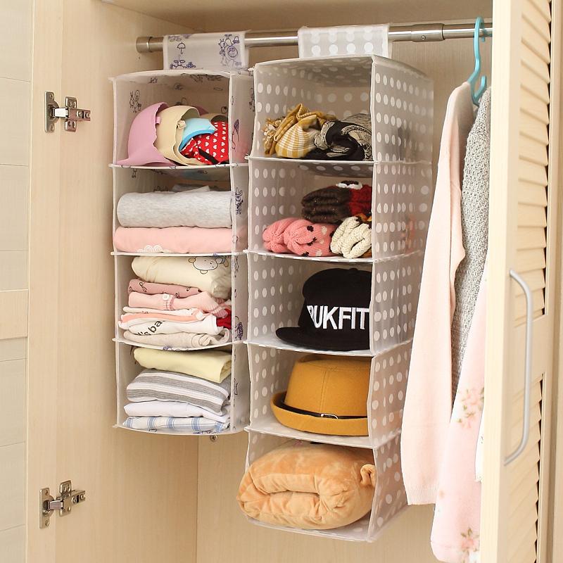 Promoci n de armario organizador colgante compra armario - Organizador armario ...