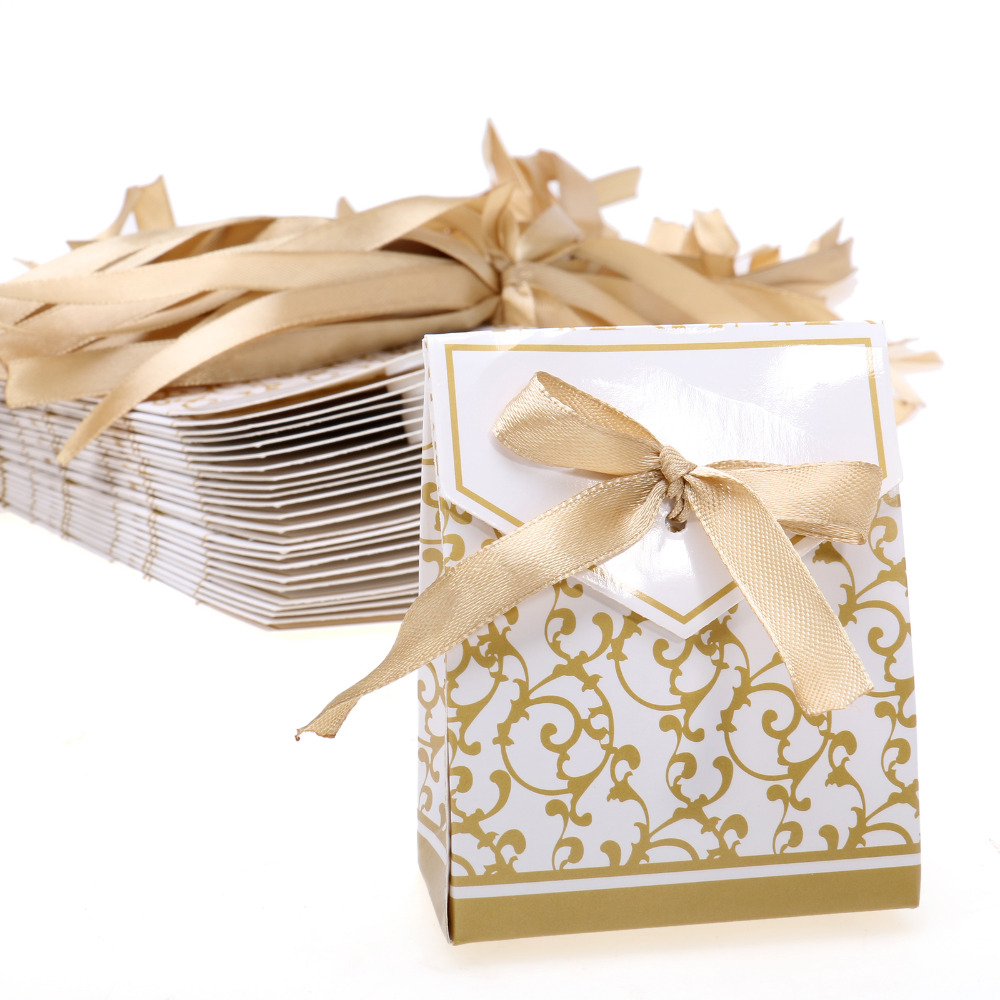 50pcs/lot Gift Boxes Candy Favor Box Wedding Decoration Party Decoration New Craft Decoration Thanksgiving Gifts Christmas Gifts(China (Mainland))