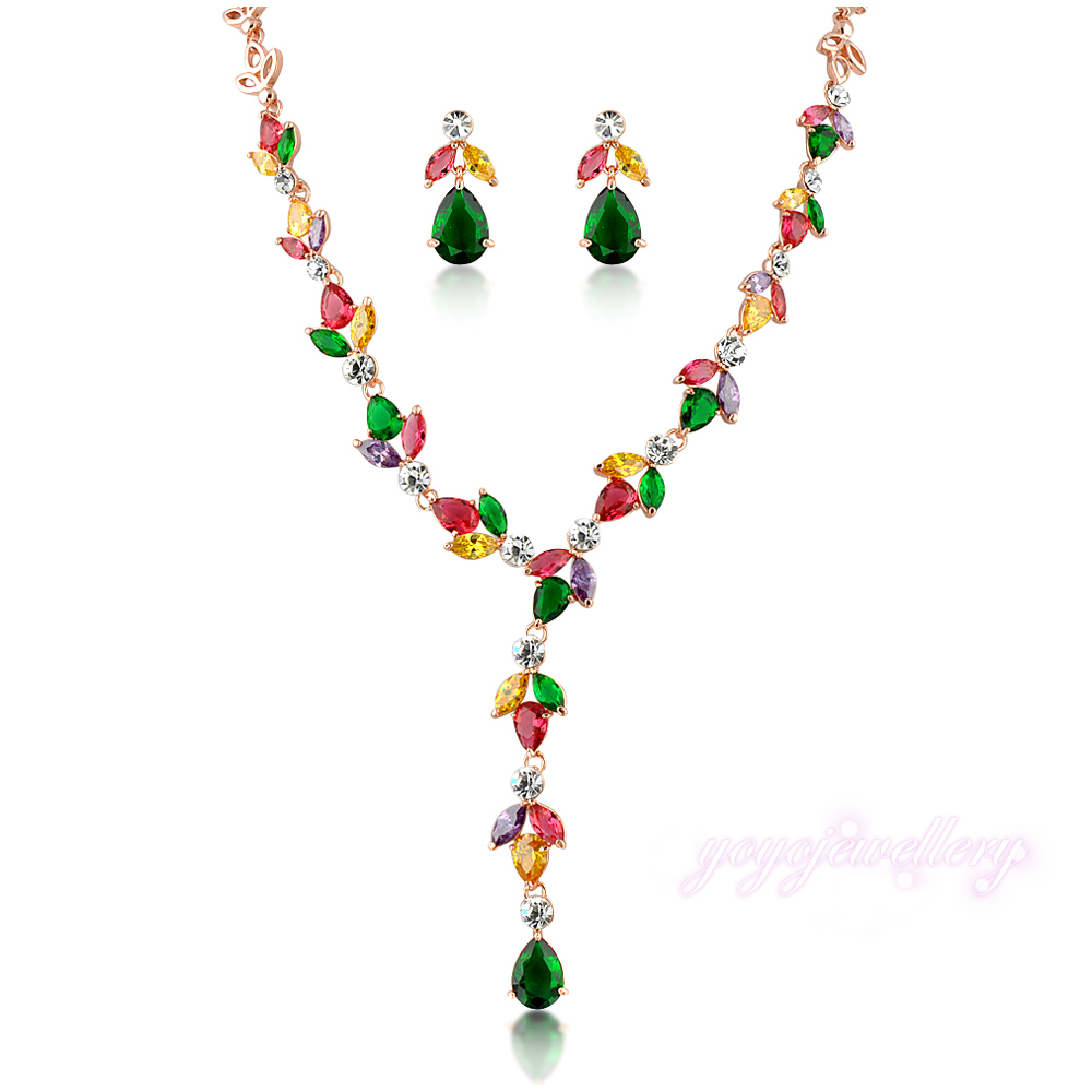 aliexpress buy mytys colorful link necklace