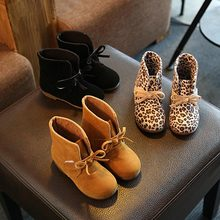 Kids Shoes girls Boys 3Color Leopard Black Brown High Children Sneakers girl Baby Shoes Sport Autumn Winter Children Shoes(China (Mainland))