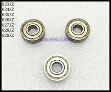 Buy 10pcs/Lot 629ZZ 629 ZZ 9x26x8mm Mini Ball Bearing Miniature Bearing Deep Groove Ball Bearing Carbon Steel Brand New for $8.45 in AliExpress store