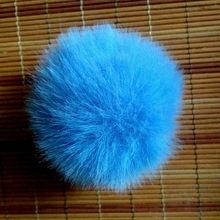 22 cores DIY Faux Fur Pompom Fofo Bola para Sapatos Chapéus Lenços Saco Chaveiros Encantos DIY Fontes Do Ofício de Jóias Acessórios(China)